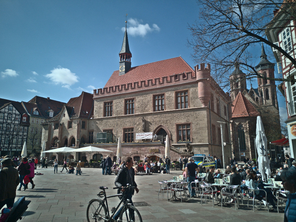 The Town Hall of Göttingen